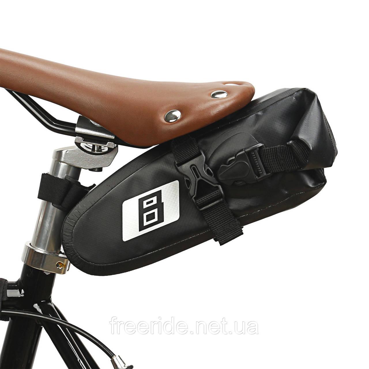Велосумка подседельная непромокаемая, сумка под седло (B-soul)