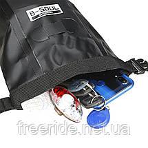 Велосумка подседельная непромокаемая, сумка под седло (B-soul), фото 3