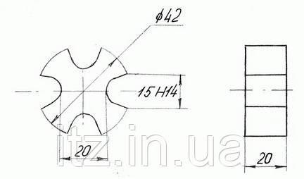 Амортизатор Д218.00.17 (2Д100.32.032)
