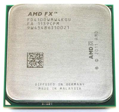 Процессор AMD FX-4100 3.6GHz AM3+ tray