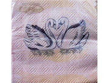 Серветка (ЗЗхЗЗ, 20шт) La Fleur Курча під вербою 503 (1 пач)