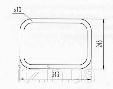 Прокладка Д218.00.10 (Д100.41.111А)