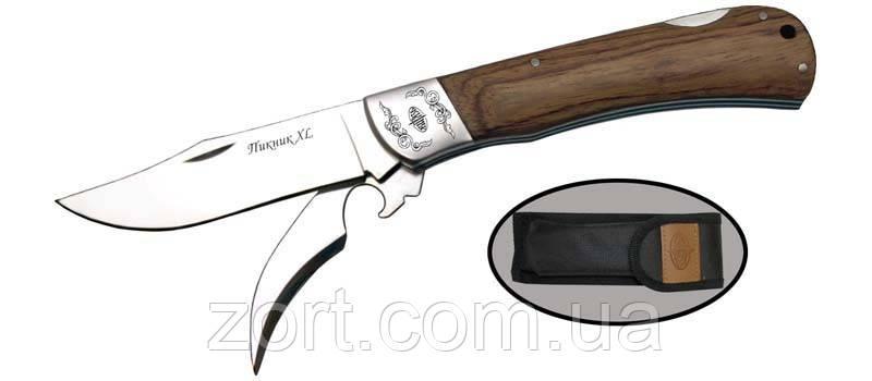 Нож складной, механический Пикник-XL