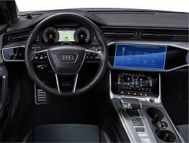 """Защитное стекло для панели приборов Audi Q8 2018-2020, 12.23"""""""