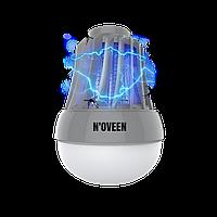 Кемпинговая светодиодная лампа от насекомых для туризма и рыбалки Noveen IKN823 LED IPХ4