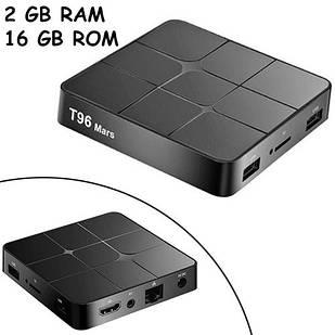 Медиаплеер Android 9.0 Smart TV Box Amlogic S905W 2/16ГБ T96 Mars
