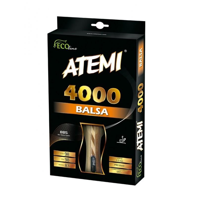 Ракетка для настільного тенісу ATEMI 4000 Pro сертифікована ITTF