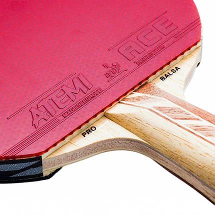 Ракетка для настільного тенісу ATEMI 4000 Pro сертифікована ITTF, фото 2