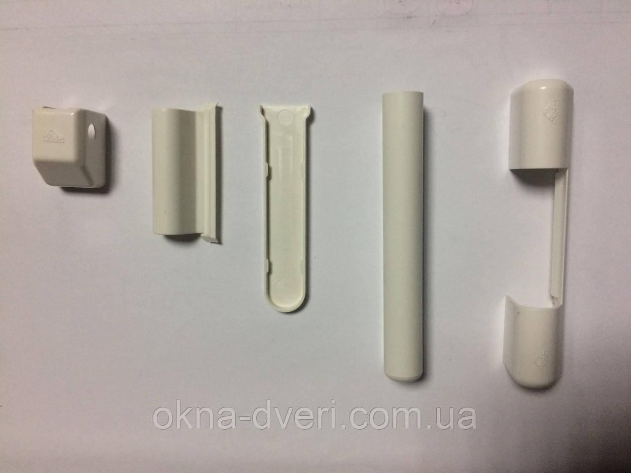 Накладки на віконні петлі фурнітура ROTO KSR колір білий