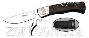 Нож складной, механический Дачник