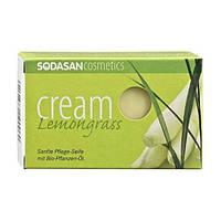 Sodasan Органическое мыло-крем Lime tree blossoms для лица с маслами Ши и Цветов липы, 100 гр