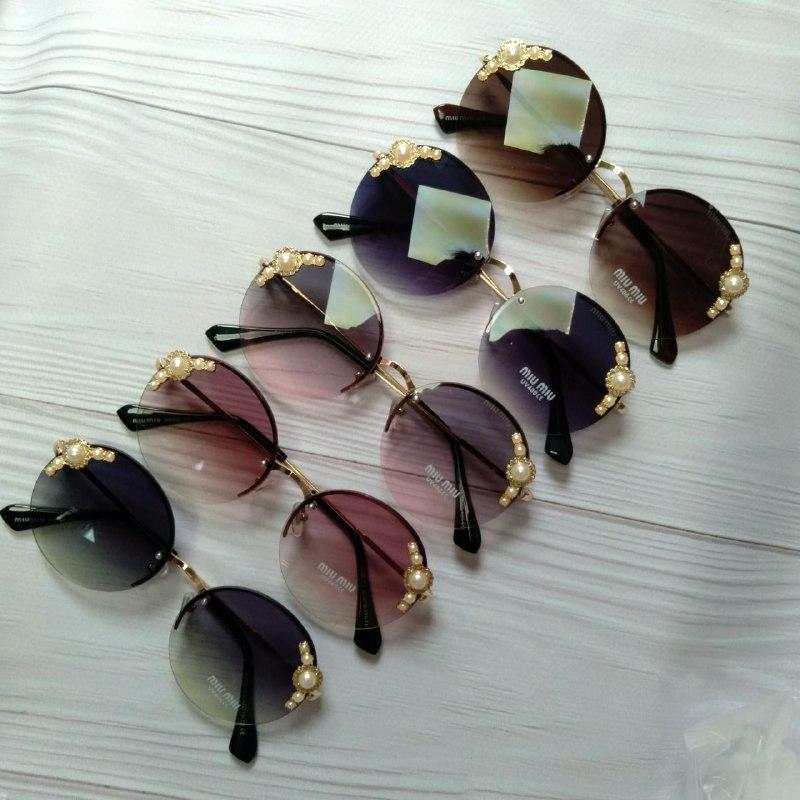 Красивые женские очки солнцезащитные