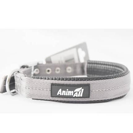 Ошейник AnimAll для собак, S, серый, фото 2