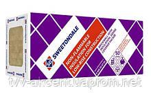 Минеральная вата ТЕХНОБЛОК СТАНДАРТ  45кг/м3 (1200*600*100) 2,88 м2.в упаковке