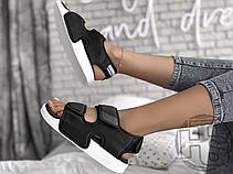 Женские сандалии Adidas Original Adilette Sandal 3.0 Black White EG5025, фото 2