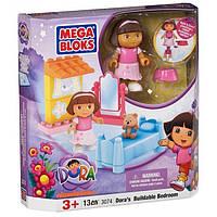 Конструктор Mega Bloks Dora Спальня - набор 13 деталей  3074