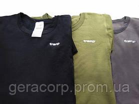 Термобелье мужское Tramp Warm Soft комплект (футболка+кальсоны) TRUM-019 L-XL оливковый, фото 3