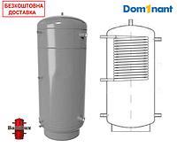 Теплоаккумулятор BakiLux АБН-1В 200 литров с верхним теплообменником без изоляции, буферная емкость