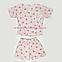 Комплект шорты и футболка женские (светло-розовая), фото 7