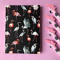 Блокнот в точку Фламинго