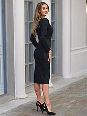Меланжевое платье ангоровое осень - зима, фото 3