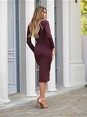 Женское ангоровое платье осень - зима, фото 3