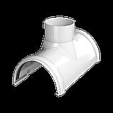 Воронка желоба Технониколь Белая 125 ПВХ, фото 2
