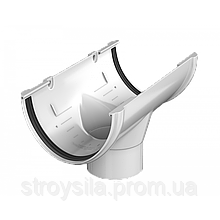Воронка желоба Технониколь Белая 125 ПВХ