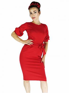 Платье фонарик красное, фото 2