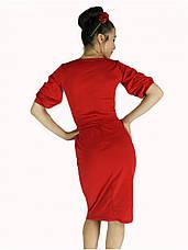Платье фонарик красное, фото 3