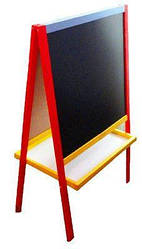 Мольберт двухсторонний 60 х 60 см (цветной) 70625