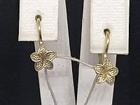 Золоті сережки. Артикул 3632449, фото 1