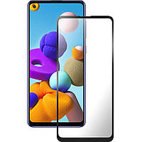 5D Стекло Samsung Galaxy A21S (2020) Black