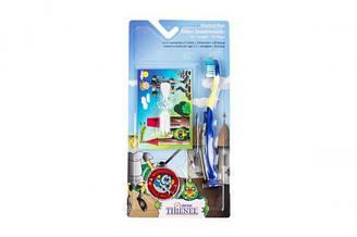 """Набор для ухода за зубами """"Dental Thienenel"""" (для мальчиков), синий 20121"""
