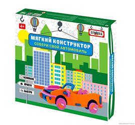 """Мягкий конструктор """"Машинка кабриолет"""" 6100"""