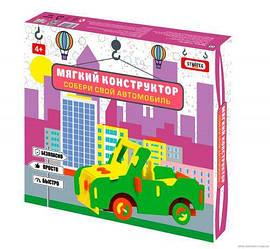 Мягкий конструктор Автомобиль внедорожник рус 6103