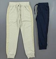 Трикотажні штани спортивні дівчаток 98/128 см