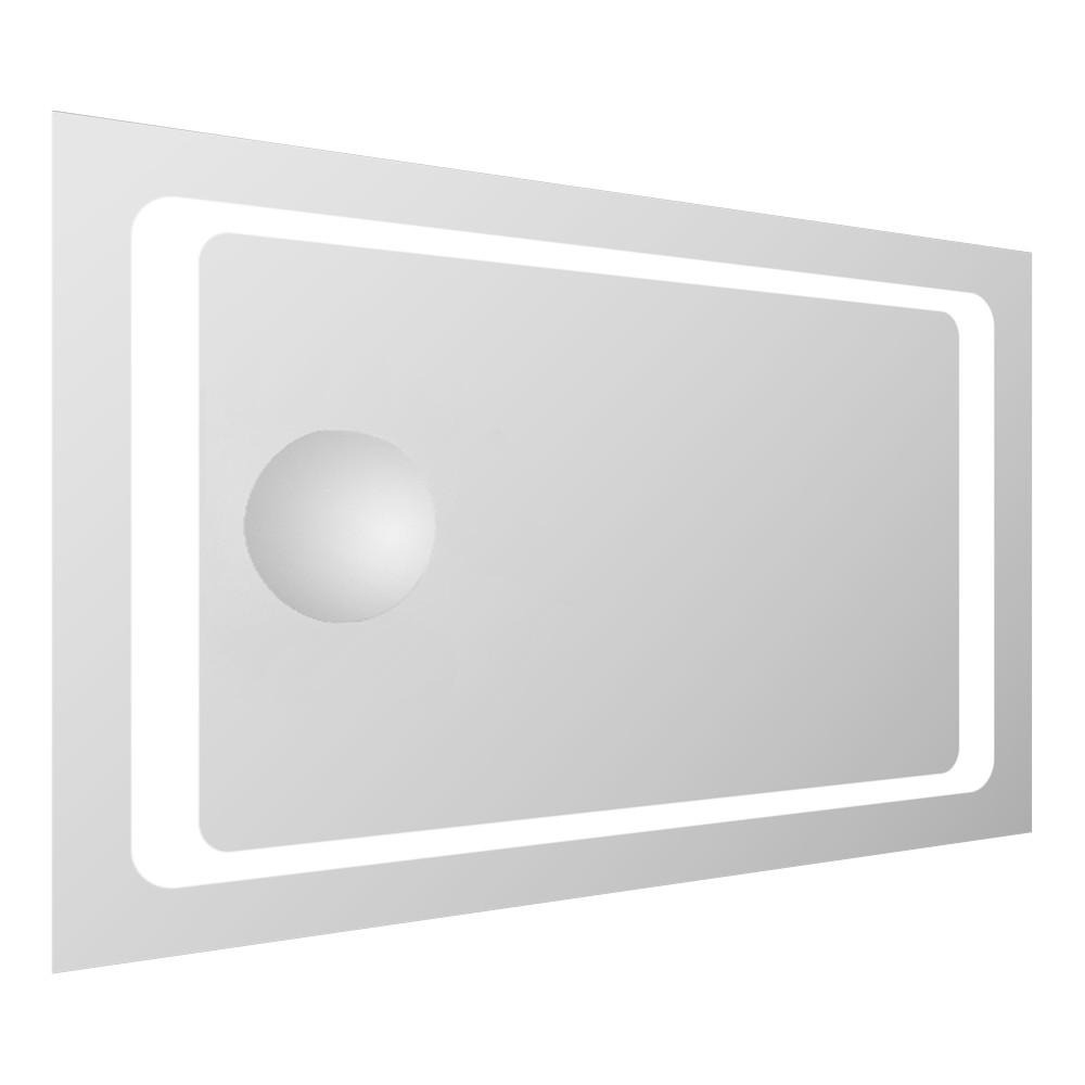 Скидка есть! Звоните. Volle Зеркало прямоугольное 55*80см со светодиодной подсветкой и встроенным зеркалом с