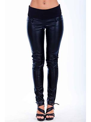 Жіночі легінси чорні, фото 2