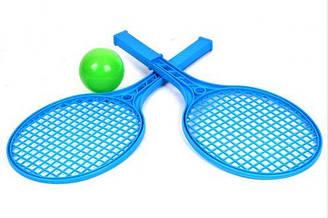 Детский набор для игры в теннис ТехноК (синий) 0373