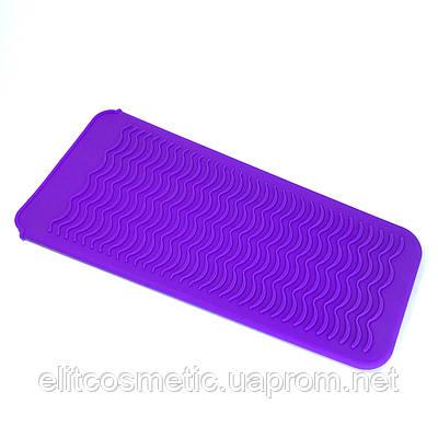 Термостойкий коврик-чехол фиолетовый