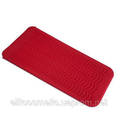 Термостойкий коврик-чехол красный