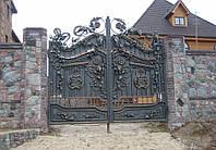 Кованные ворота (заборы, ограждения, калитки)
