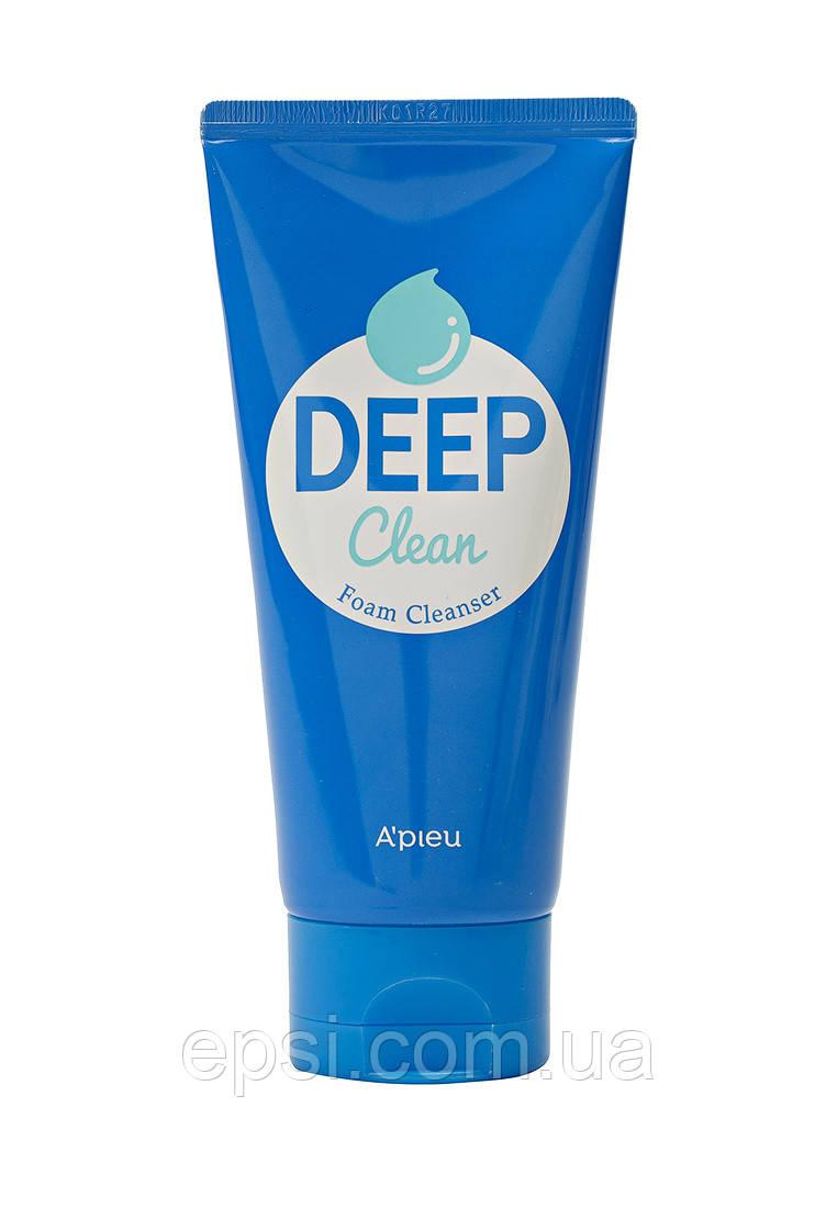 Пена для умывания Apieu Deep Clean Foam Cleanser, 130 мл