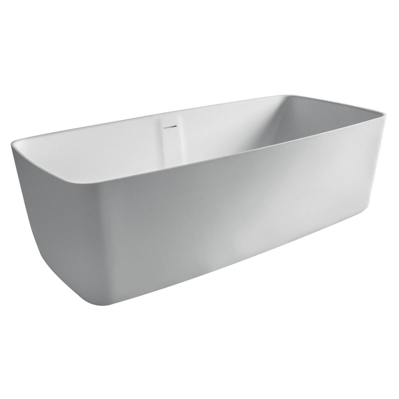 Нужно дешевле? Звоните. Volle Ванна отдельностоящая каменная Solid surface 1680*800*530mm