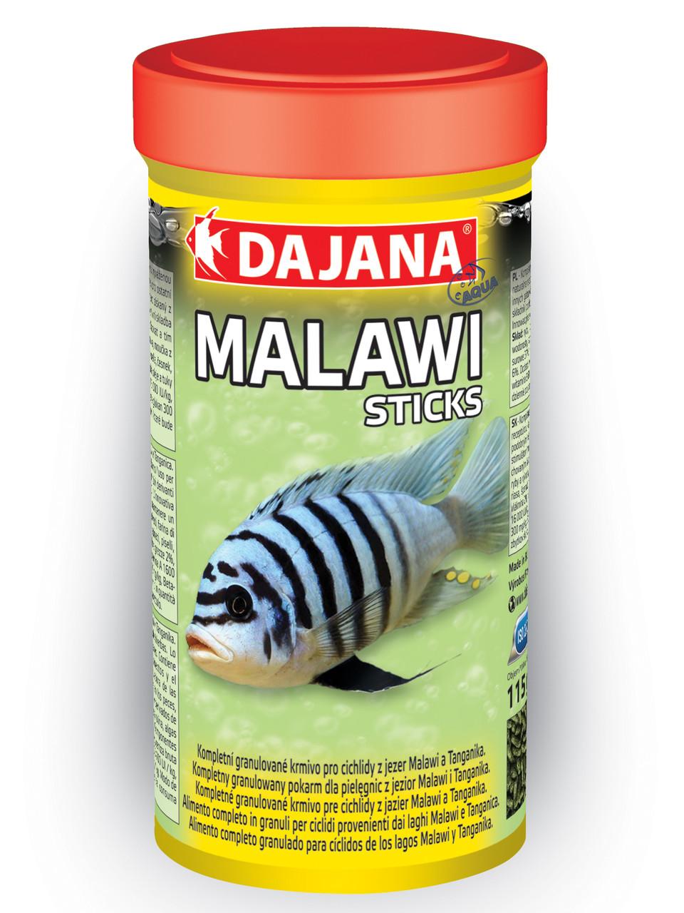 Dajana MALAWI STICKS. Корм для цихлид Малави в палочках (5л/1,5кг)