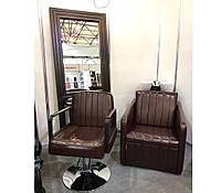 Мойка парикмахерская в барбершоп мужская Bronx Китай черная/белая
