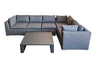 Элитная садовая мебель SET. Дизайнерский комплект мебели LAUREN LOUNGE SET RENGARD. Уличная мебель для дома