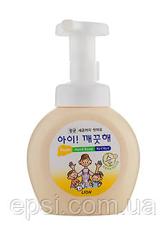 Мыло пенное для рук Чувствительная кожа Lion Ai kekute bottle, 250 мл