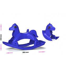 Лошадка-качалка (синяя) 05550/3
